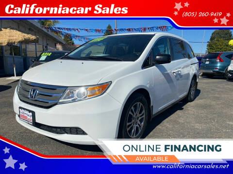 2012 Honda Odyssey for sale at Californiacar Sales in Santa Maria CA