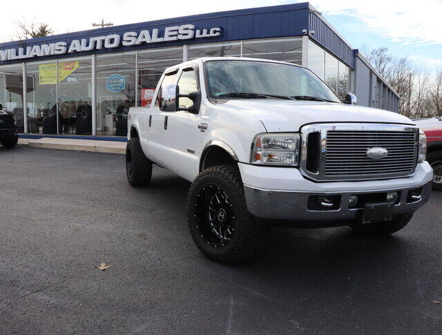 2006 Ford F-250 Super Duty for sale at Williams Auto Sales, LLC in Cookeville TN