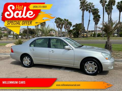 2002 Lexus LS 430 for sale at MILLENNIUM CARS in San Diego CA
