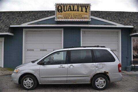 2001 Mazda MPV for sale at Quality Pre-Owned Automotive in Cuba MO
