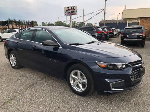 2018 Chevrolet Malibu for sale at SKY AUTO SALES in Detroit MI