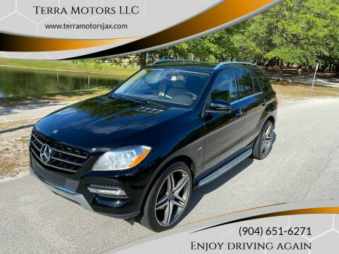 2012 Mercedes-Benz M-Class for sale at Terra Motors LLC in Jacksonville FL
