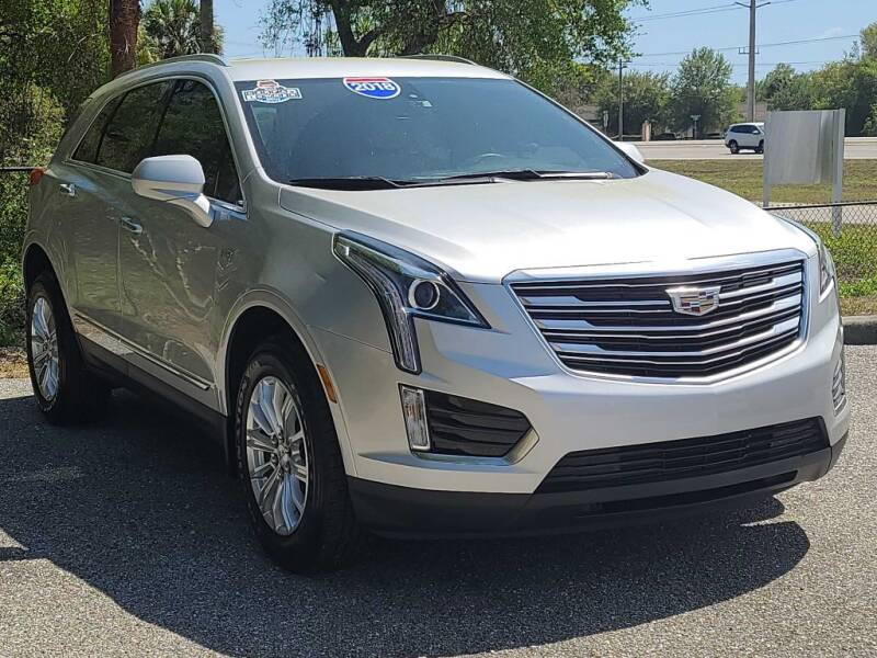 2018 Cadillac XT5 for sale at Jeff's Auto Sales & Service in Port Charlotte FL