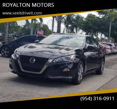 2020 Nissan Maxima for sale at ROYALTON MOTORS in Plantation FL