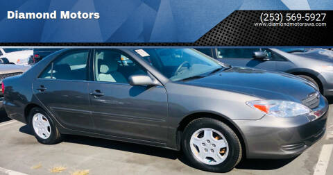 2003 Toyota Camry for sale at Diamond Motors in Lakewood WA
