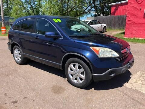 2009 Honda CR-V for sale at WB Auto Sales LLC in Barnum MN