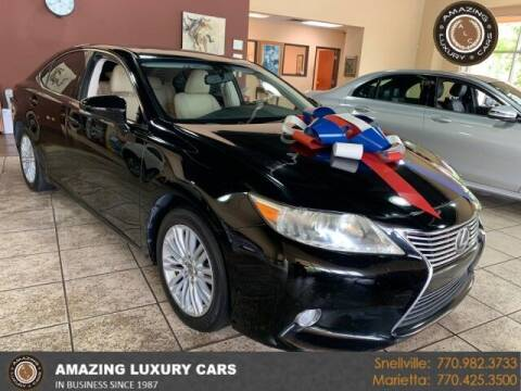 2013 Lexus ES 350 for sale at Amazing Luxury Cars in Snellville GA