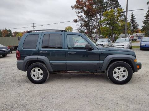2006 Jeep Liberty for sale at Hilltop Auto in Prescott MI