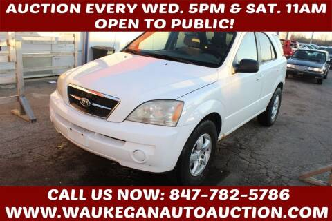 2006 Kia Sorento for sale at Waukegan Auto Auction in Waukegan IL