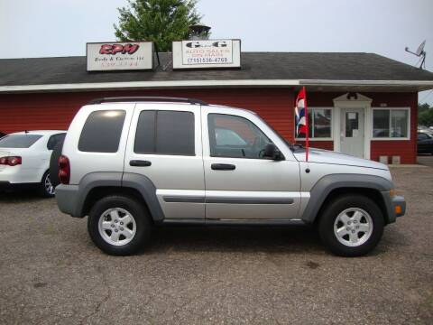 2005 Jeep Liberty for sale at G and G AUTO SALES in Merrill WI