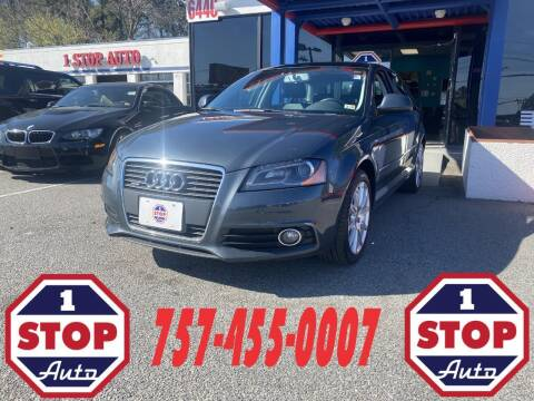 2010 Audi A3 for sale at 1 Stop Auto in Norfolk VA