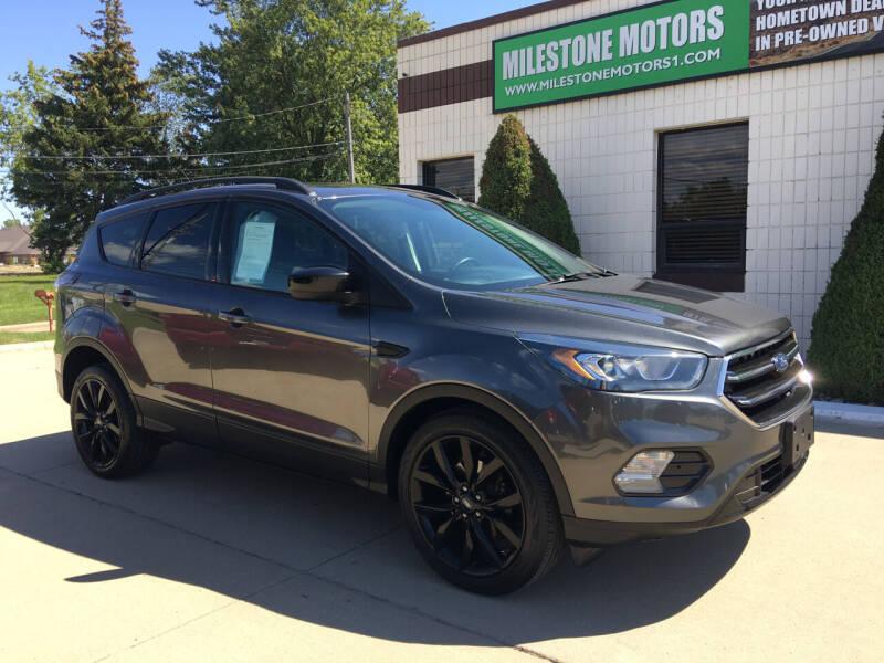 2017 Ford Escape for sale at MILESTONE MOTORS in Chesterfield MI