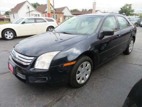 2008 Ford Fusion for sale at Bells Auto Sales in Hammond IN