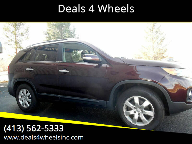 2012 Kia Sorento for sale at Deals 4 Wheels in Westfield MA
