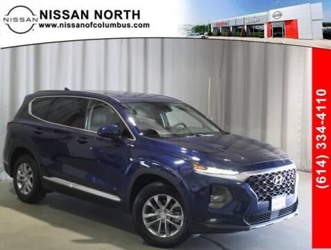 2019 Hyundai Santa Fe for sale at Auto Center of Columbus in Columbus OH