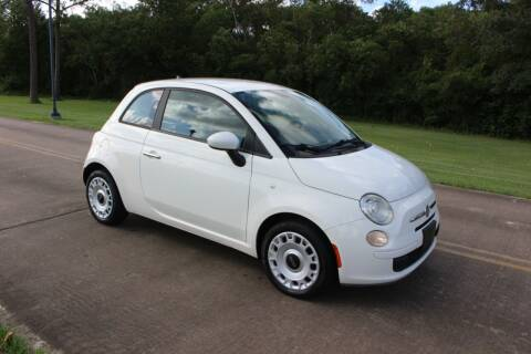 2012 FIAT 500 for sale at Clear Lake Auto World in League City TX