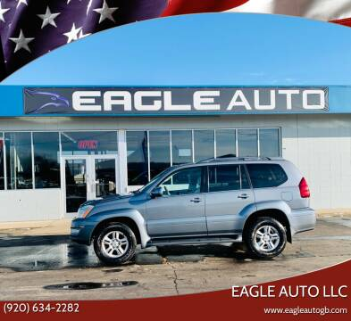 2003 Lexus GX 470 for sale at Eagle Auto LLC in Green Bay WI