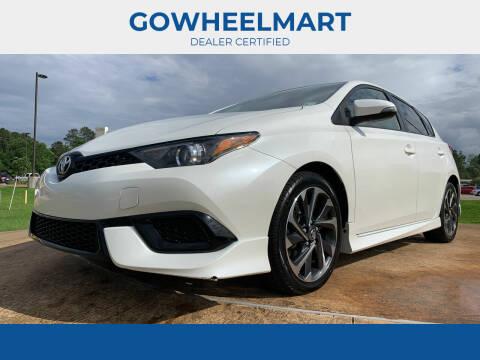 2017 Toyota Corolla iM for sale at GOWHEELMART in Leesville LA