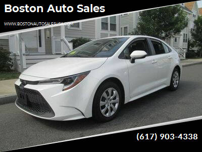 2020 Toyota Corolla for sale at Boston Auto Sales in Brighton MA