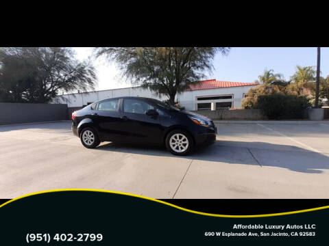 2013 Kia Rio for sale at Affordable Luxury Autos LLC in San Jacinto CA