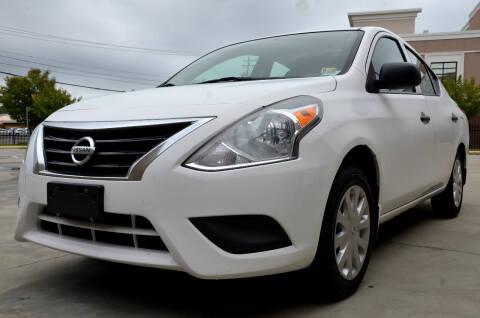 2015 Nissan Versa for sale at Wheel Deal Auto Sales LLC in Norfolk VA