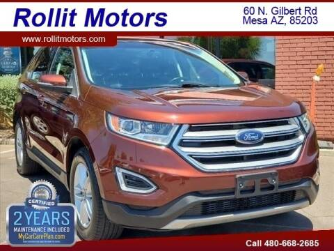 2016 Ford Edge for sale at Rollit Motors in Mesa AZ