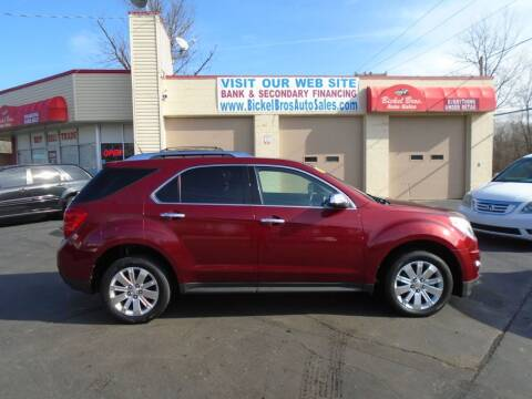 2010 Chevrolet Equinox for sale at Bickel Bros Auto Sales, Inc in Louisville KY