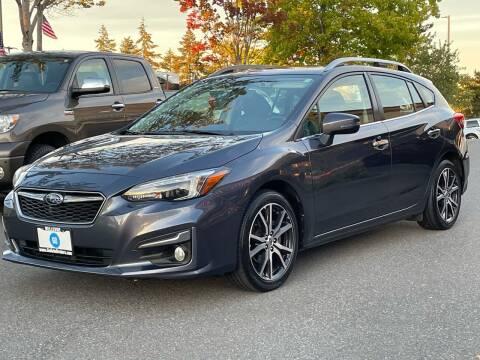 2017 Subaru Impreza for sale at GO AUTO BROKERS in Bellevue WA