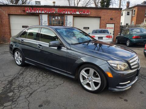 2011 Mercedes-Benz C-Class for sale at HARTFORD MOTOR CAR in Hartford CT
