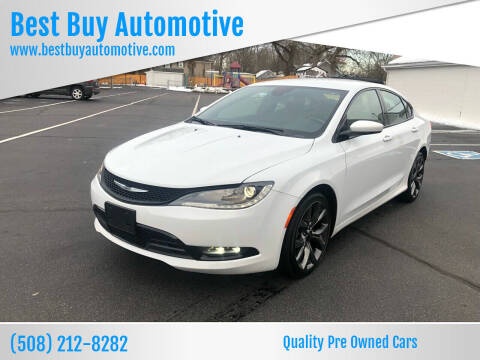 2015 Chrysler 200 for sale at Best Buy Automotive in Attleboro MA