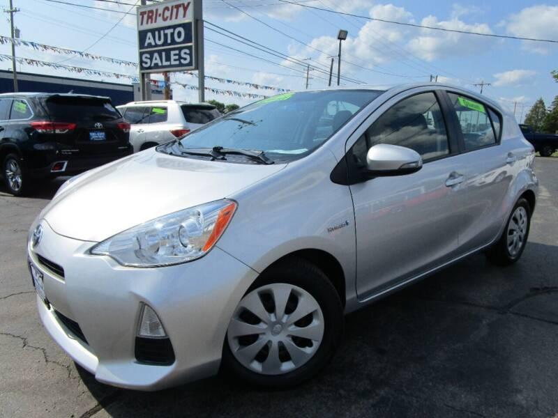 2012 Toyota Prius c for sale at TRI CITY AUTO SALES LLC in Menasha WI