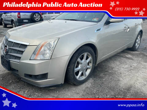 2008 Cadillac CTS for sale at Philadelphia Public Auto Auction in Philadelphia PA