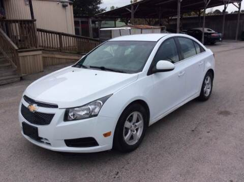 2014 Chevrolet Cruze for sale at OASIS PARK & SELL in Spring TX