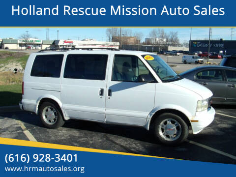 2005 GMC Safari for sale at Holland Rescue Mission Auto Sales in Holland MI