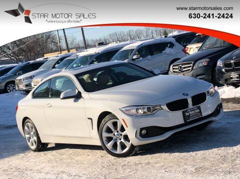 2015 BMW 4 Series for sale at Star Motor Sales in Downers Grove IL