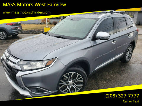 2016 Mitsubishi Outlander for sale at M.A.S.S. Motors - West Fairview in Boise ID