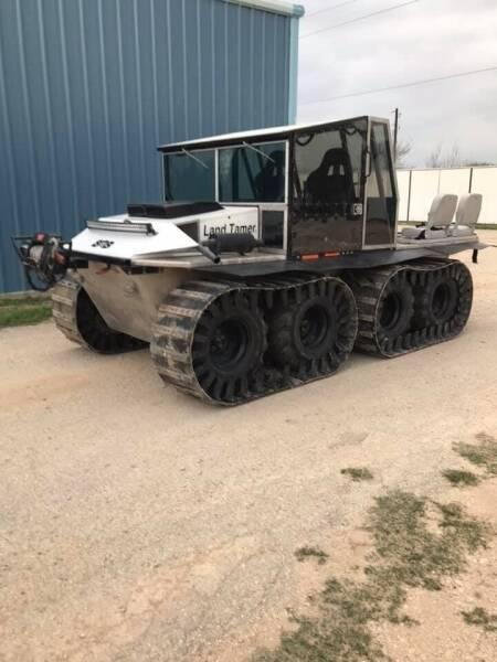 2012 Amphibious Land Tamer XHD 8x8 for sale at K & B Motors LLC in Mc Queeney TX