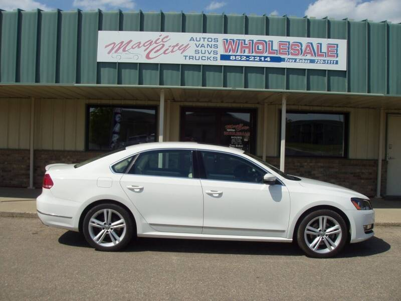 2013 Volkswagen Passat for sale at Magic City Wholesale in Minot ND