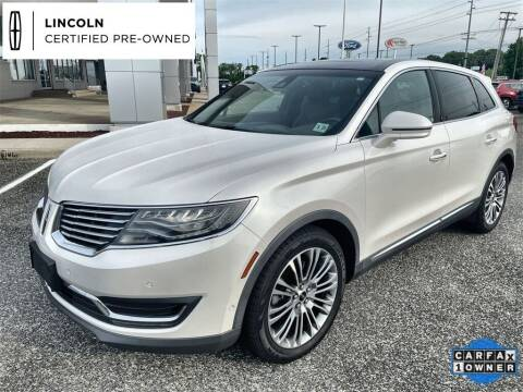 2016 Lincoln MKX for sale at Kindle Auto Plaza in Middle Township NJ