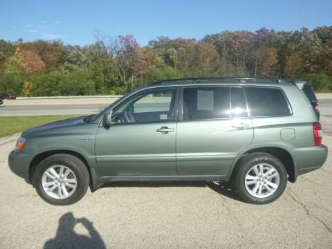 2007 Toyota Highlander Hybrid for sale at NEW RIDE INC in Evanston IL