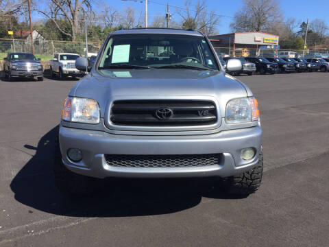 2001 Toyota Sequoia for sale at Beckham's Used Cars in Milledgeville GA