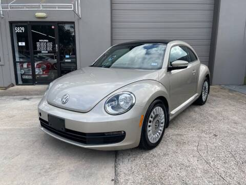 2013 Volkswagen Beetle for sale at PARK PLACE AUTO SALES in Houston TX
