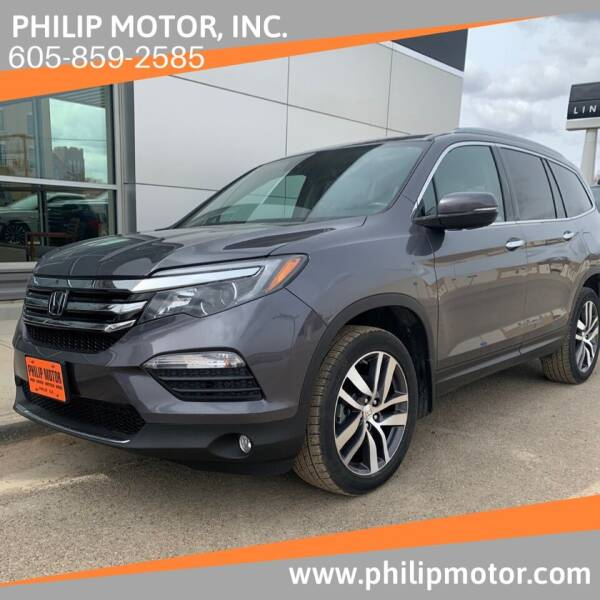 2018 Honda Pilot for sale at Philip Motor Inc in Philip SD