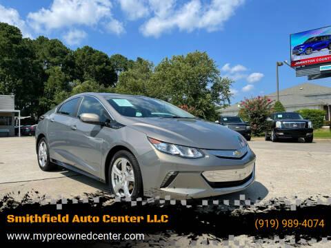 2017 Chevrolet Volt for sale at Smithfield Auto Center LLC in Smithfield NC