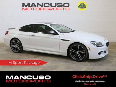 2018 BMW 6 Series for sale at Mancuso Motorsports in Glenview IL