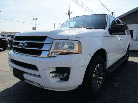 2016 Ford Expedition EL for sale at AJA AUTO SALES INC in South Houston TX