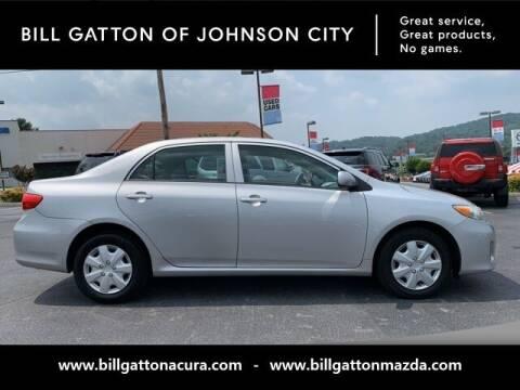 2012 Toyota Corolla for sale at Bill Gatton Used Cars - BILL GATTON ACURA MAZDA in Johnson City TN