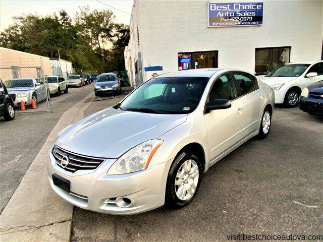 2011 Nissan Altima for sale at Best Choice Auto Sales in Virginia Beach VA