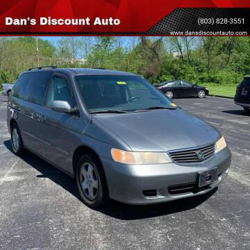 2001 Honda Odyssey for sale at Dan's Discount Auto in Gaston SC