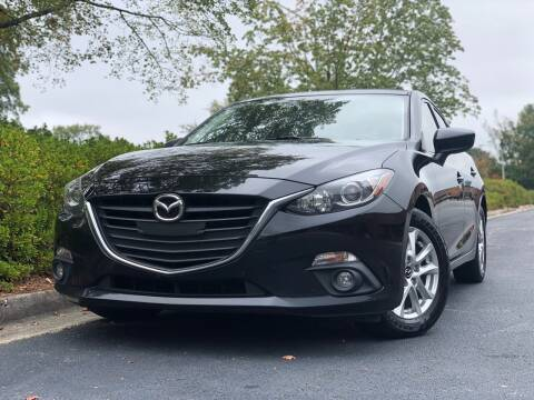 2015 Mazda MAZDA3 for sale at William D Auto Sales in Norcross GA